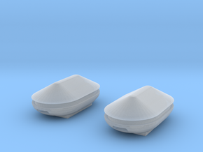 Docking Bay Tanks, 1:72 in Smooth Fine Detail Plastic
