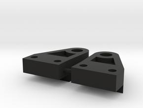 Rear Leaf Shackle Mount for TF2 in Black Natural Versatile Plastic