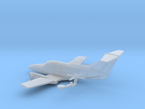 032C EMB-121A1 Xingu II 1/200 in Smooth Fine Detail Plastic