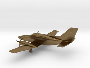 Cessna 402C Utiliner / Businessliner in Natural Bronze: 1:144