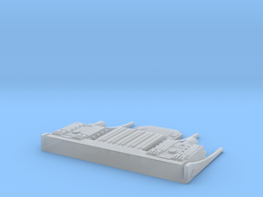 Excelsior-class After Torpedo Launcher In 1-1000 in Smooth Fine Detail Plastic