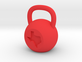 Texas - Plastic in Red Strong & Flexible Polished