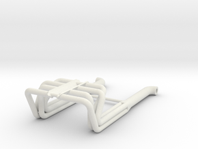 BBC 1/24 Roadster Headers in White Strong & Flexible