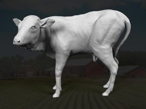 Ankole-Watusi 1:76 Calf in Frosted Ultra Detail
