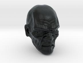 1/18 Scale Zombie 02 in Black Hi-Def Acrylate