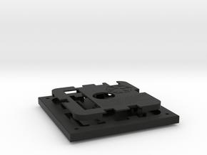SITH HOLOCRON 1/4 (Base) in Black Natural Versatile Plastic