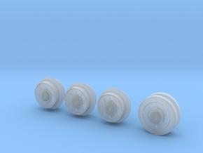 1/35 Spare Roadwheel Set Brummbar Ft Benning  in Smoothest Fine Detail Plastic