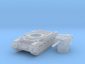 Matilda II tank (British) 1/200 in Smooth Fine Detail Plastic