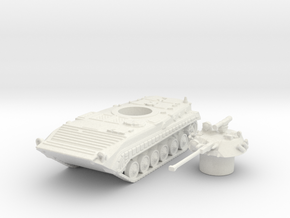 Bmp-1 tank (Russian) 1/100 in White Strong & Flexible