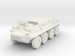 BTR 60 closed (Russian) 1/100 in White Strong & Flexible