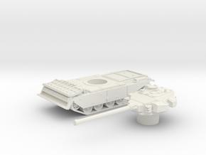 Centurion tank with Dozer (British) 1/100 in White Strong & Flexible