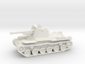 Ho Ni tank (Japan) 1/144 in White Natural Versatile Plastic