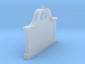 Building Sign in Smoothest Fine Detail Plastic: 1:64 - S