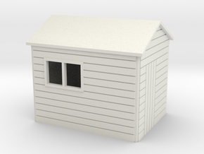 Garden Shed  8 x 6 Apex Roof oo 4mm in White Strong & Flexible