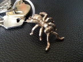Amazing Ant Pendants (set) in Polished Bronzed Silver Steel