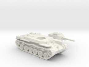 ShinHoTo Tank (Japan) 1/87 in White Natural Versatile Plastic