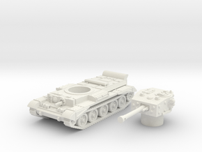 Cromwell IV Tank (British) 1/100  in White Strong & Flexible