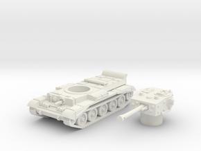 Cromwell IV Tank (British) 1/100  in White Natural Versatile Plastic