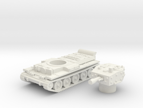 Centaur IV Tank (British) power 1/87 in White Natural Versatile Plastic