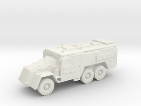 AEC Armoured Command Vehicle (British) 1/144 in White Natural Versatile Plastic
