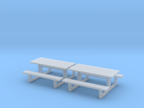 TJ-H01142x2 - Tables en béton in Smooth Fine Detail Plastic