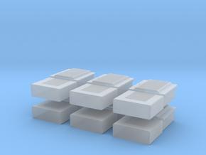TJ-H01107x6 - boitiers electriques maison individu in Smooth Fine Detail Plastic