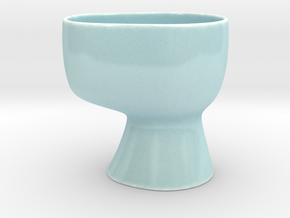 Sohvi Ice Cream Bowl in Gloss Celadon Green Porcelain