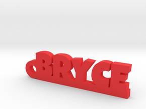 BRYCE Keychain Lucky in Red Processed Versatile Plastic