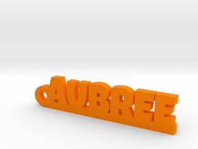 AUBREE Keychain Lucky in Orange Processed Versatile Plastic