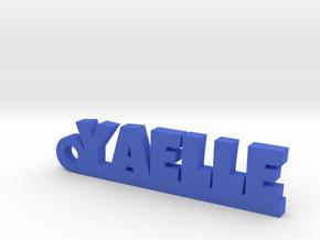 YAELLE Keychain Lucky in Blue Processed Versatile Plastic