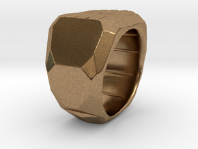 Sphynx Ring Alpha in Natural Brass: 7.5 / 55.5