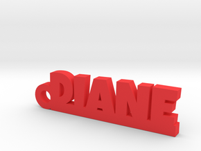 DIANE Keychain Lucky in Natural Brass