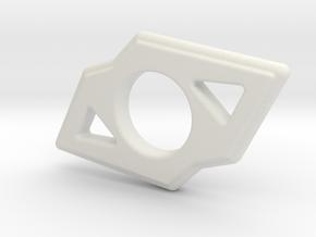 Spinner in White Natural Versatile Plastic
