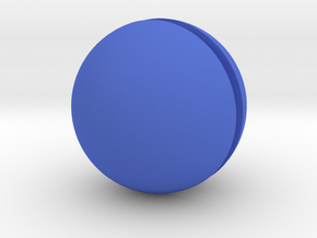 Bowling Ball in Blue Strong & Flexible Polished