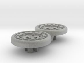Dwemer spinner caps in Metallic Plastic