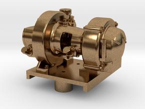 "Pyle Type ""K2"" Generator with Platform in Natural Brass"