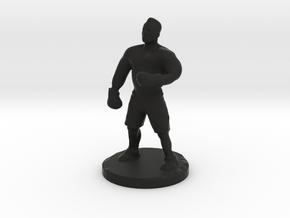 gangster boxer in Black Natural Versatile Plastic