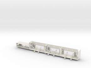 Graf Zeppelin 1:100 Bootsnieschen Bb Spt 120-168 in White Natural Versatile Plastic