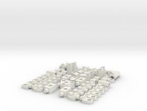 Honeycreator in White Natural Versatile Plastic