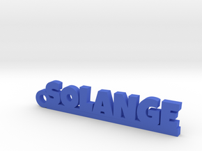 SOLANGE Keychain Lucky in Blue Processed Versatile Plastic