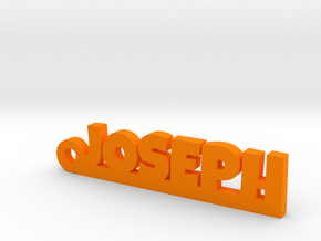 JOSEPH Keychain Lucky in Orange Processed Versatile Plastic