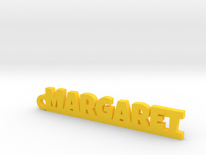 MARGARET Keychain Lucky in Yellow Processed Versatile Plastic