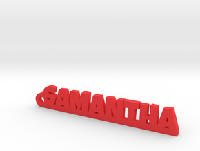 SAMANTHA Keychain Lucky in Red Processed Versatile Plastic