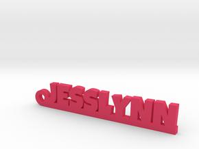 JESSLYNN Keychain Lucky in Pink Processed Versatile Plastic
