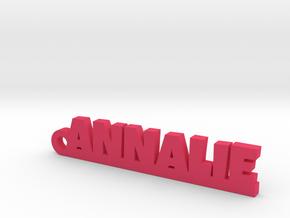 ANNALIE Keychain Lucky in Pink Processed Versatile Plastic