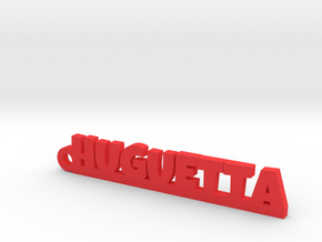 HUGUETTA Keychain Lucky in Red Processed Versatile Plastic