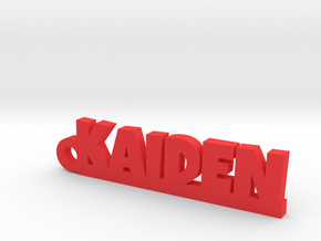 KAIDEN Keychain Lucky in Red Processed Versatile Plastic