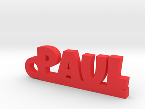 PAUL Keychain Lucky in Red Processed Versatile Plastic