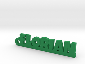 FLORIAN Keychain Lucky in Green Processed Versatile Plastic