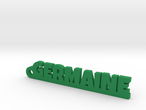GERMAINE Keychain Lucky in Green Strong & Flexible Polished